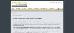 Capture of TSQUARED Press Release