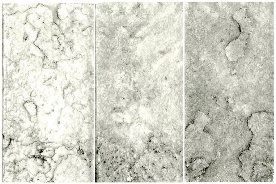 Untitled (Collagraph Triptych), 2014
